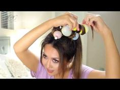 Weird Hair Hack Balloons Curls (Heatless)| How to Curl Your Hair with BALLOONS & Slay! - MakeupWearables Hairstyles