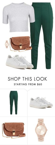 """""""cool pants"""" by thefashionguilty on Polyvore featuring Joseph, Bibi, Michael Kors and Topshop"""