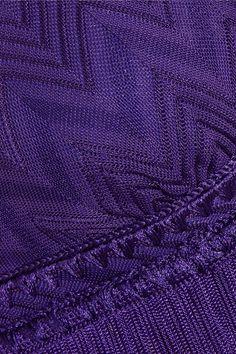 aa7cb677f30b7 Missoni - Mare fringed crochet-knit bikini