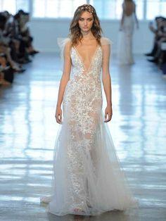Berta Fall/Winter 2018: Super-Sheer Wedding Dresses With Daring Details | TheKnot.com