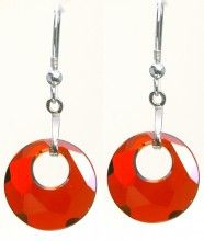 Life Earrings - Red - Crystal Pulse Store