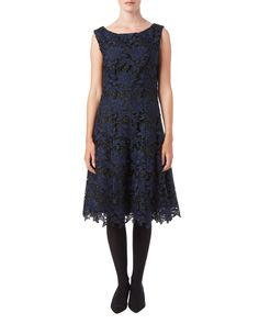 Party Dresses   Black Anouk Lace Fit & Flare Dress   Phase Eight