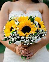 Sunflower Wedding Bouquet