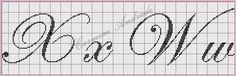 BORDADOS E AFINS: Monogramas Criados Por Mim