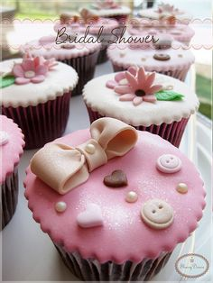 Bridal Shower Cupcake