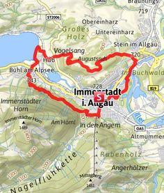 Karte / Rund um Immenstadt