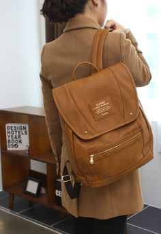 Classy Leather Backpack: Leather Backpack Giveaway! Please pin this item to enter!  For more information, please check here: http://www.pinterest.com/pin/231161393347388326/