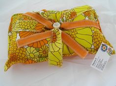 Cushion  Small  1960's Fabric    (70)