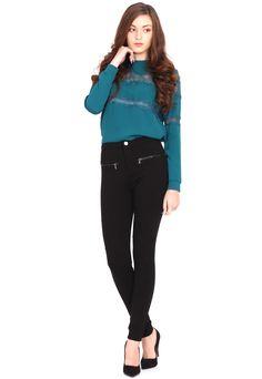 Pantaloni Bershka Collection Black | Kurtmann.ro Bershka Collection, Black, Style, Fashion, Swag, Moda, Black People, Fashion Styles, Fashion Illustrations