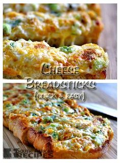 """These """"cheese breadsticks"""", is a sort of cross between garlic bread and pizza. It's a great way to help feed a lot of hungry people, and easy to pull together, even at the last minute. It's also a recipe to play with."""