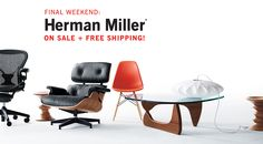 #Eames and more on sale now! Design Within Reach: The Best in Modern Furniture and Modern Design