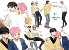 Page 3 Read 🎉🎊¡Happy Yoongi Day!🎊🎉 from the story ♡Fanarts e Imágenes Sin Censura de BTS♡ by (💜PurpleYou💜) with reads. army, imagenes, t. Jimin Jungkook, Bts Bangtan Boy, Yoonmin Fanart, Otp, Hoseok, Seokjin, Namjin, K Pop, Pop Kpop