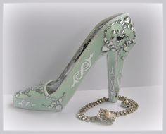 3D Paper High Heel from SVGcuts.com