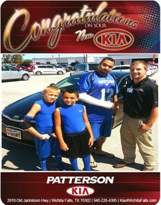 Congratulations Ramon Rios on your New 2013 KIA Optima!!! - From Brandon Warton at Patterson Kia