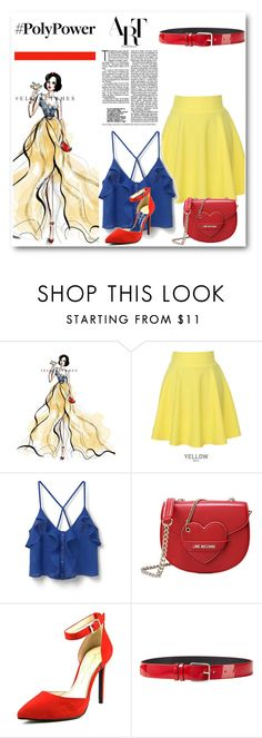 """Modern Day Snow White"" by preety1-cdxxx ❤ liked on Polyvore featuring Disney, QNIGIRLS, MANGO, Love Moschino, Jessica Simpson, Jil Sander and modern"