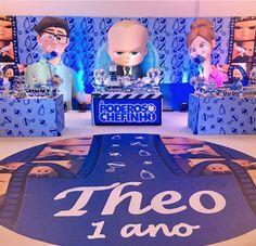 104 IDÉIAS PARA FESTA PODEROSO CHEFINHO - FAÇA SUA FESTA! Baby Birthday Themes, Boss Birthday, Little Man Birthday, Baby Girl Shower Themes, Baby Boy Birthday, Boy Birthday Parties, 2nd Birthday, Baby Theme, Winnie The Pooh
