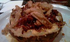 Beef Brisket Stuffed Baked Potato Dinner Side Dishes, Dinner Sides, Side Recipes, Beef Recipes, Stuffed Baked Potatoes, Food Sides, Beef Meals, Brisket, Fat
