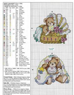 graficos infantiles punto de cruz (pág. 2)   Aprender manualidades es facilisimo.com