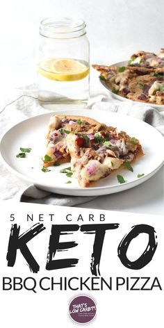 Keto Barbecue Chicken Pizza is one of our all-time favorite low carb pizza options perfect for pizza night any night. Cut the carbs not the flavor when it comes to your pizza. #healthychicken Heart Healthy Recipes, Real Food Recipes, Healthy Snacks, Chicken Recipes, Chicken Meals, Ketogenic Recipes, Low Carb Recipes, Diet Recipes, Diabetic Recipes