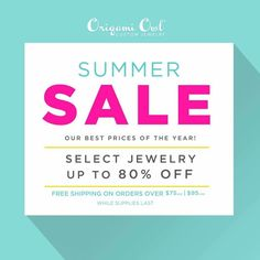Origami Owl  Say what?!?! 80% OFF???  Check it out here  www.charmingsusie.origamiowl.com