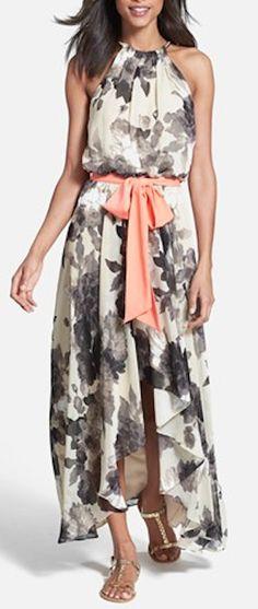 sweet floral print chiffon dress http://rstyle.me/n/vz4qvr9te