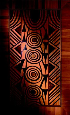 Berti Wood Flooring. Decorative parquetry model Tam Tam. Inlaid wooden floor   custom made. Thickness: 14 mm  Dimensions: about 3165 x 3165 mm  Composition: PANGA, origin: Mozambique - TEAK ASIA, origin: Asia - DOUSSIE: origin: Tropical West Africa. #parquet #parquetlovers