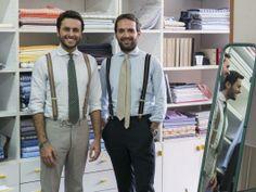 Fabio Attanasio and Gennaro Santillo Slow Tailoring, a collaboration project of 5 handmade shirts made in South Italy. #Santillo1970 #FabioAttanasio #THEBESPOKEDUDES #handmadeshirt