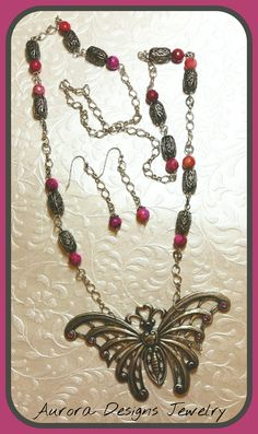 Critter Challenge for June and July.  Designed and created by Marcia Tuzzolino of Aurora Designs Jewelry.