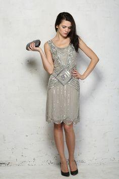 vintage kleider 20er schickes kleid vintage mode damen