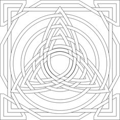 Celtic Mandala Coloring Pages - Coloring Home Cross Coloring Page, Heart Coloring Pages, Mandala Coloring Pages, Free Coloring Pages, Coloring Books, Celtic Mandala, Celtic Art, Celtic Dragon, Celtic Patterns