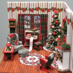christmas miniature - Google Search