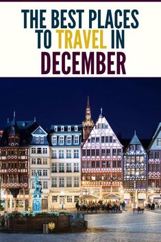 December travel