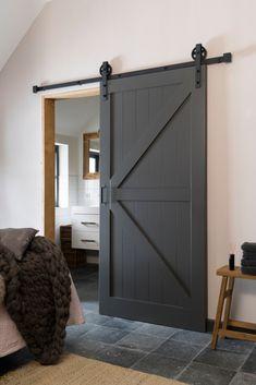 Exterior Barn Door Hardware, Door Gate Design, Loft Interiors, Modern Cottage, Home Decor Inspiration, Interior Styling, Future House, Home Remodeling, Living Room Designs