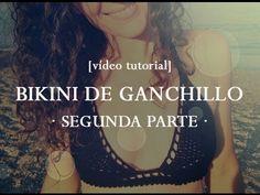 Cómo hacer un bikini de ganchillo [vídeo tutorial]