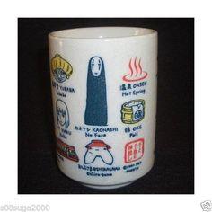 Spirited Away Yunomi Japanese Tea Cup Made in Japan Studio Ghibli from Japan | eBay