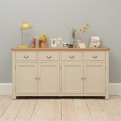 Dining Room Furniture Sale - Stunning Oak, Pine & Painted Ranges - The Cotswold Company Large Sideboard, Sideboard, Dining Room Furniture, Furniture, Shabby Furniture, Shabby Chic Kitchen Table, Country Style Kitchen, Sideboard Decor Dining Room, Sideboard Furniture