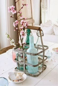 EN MI ESPACIO VITAL: Muebles Recuperados y Decoración Vintage: Un toque de delicadeza { A touch of delicacy }