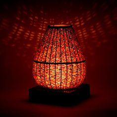 bamboo lamp  bamboo candle holders bamboo lantern (15.00 USD) by Namigurumi