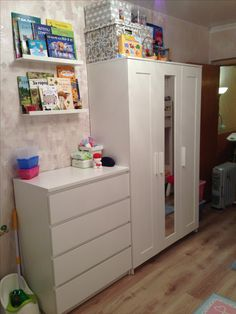 Ikea Galant Desk, Ikea Malm Desk, Ikea Drawers, Ikea Bedroom Dressers, Cream Bedroom Furniture, Black Bedroom Design, Design Your Bedroom, Ikea Childrens Desk, Ikea Brimnes Wardrobe