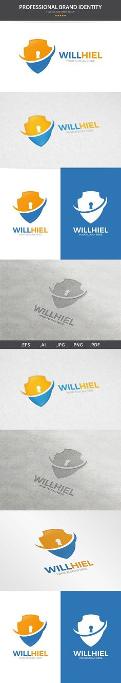 Vector Shield Logo Design Template. Best Objects