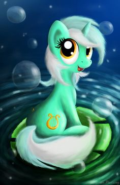 Lyra Heartstrings by on DeviantArt My Little Pony Unicorn, My Little Pony 1, Hasbro My Little Pony, Mlp Characters, Fictional Characters, Lyra Heartstrings, Vinyl Scratch, Cute Ponies, Some Beautiful Pictures