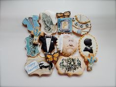 Christeningcookies by SugarRushCustomCooki on DeviantArt Christening Cake Boy, Fondant Icing, Baby Cookies, Cakes For Boys, Cookie Designs, Custom Cookies, Sugar Rush, Edible Art, Cookie Cutters