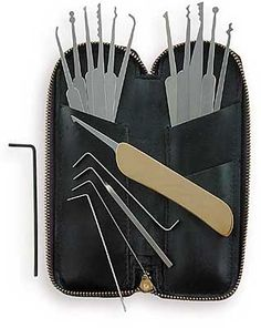Lock pick set.  Just seems like a good thing to have.