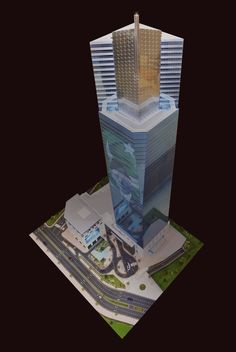 Icon Tower - Scale Metric - Bahria Town - Karachi, Pakistan made by Real Model International ‪ ‪ ‪ ‪ Tower Models, Karachi Pakistan, Real Model, Skyscraper, Architecture Design, Scale, Engineering, Weighing Scale, Skyscrapers
