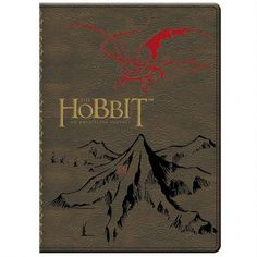One of my favorite discoveries at HobbitShop.com: The Hobbit: An Unexpected Journey Leatherette Journal