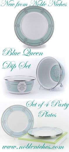CLICK PIC TO SHOP Elegant enamelware for easy entertaining from dining room to outdoors! Our Dip Set and Set of 4 Party Plates make the perfect gift for Mother's Day or Bridal Shower. Dip set includes charger and one bowl. Oven and Dishwasher safe! Special Offer at $29.00 Dip Set $39.00 for Party Plates #chipanddip #dip #party #enamelware #elegantentertaining #entertaining #summerentertaining #mothersday #mothersdaygiftideas #showergift #bridalshowergift #bridalshowergiftideas