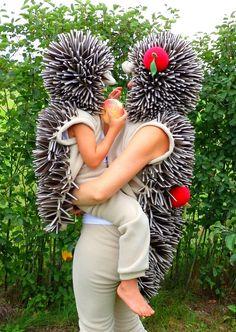 Hedgehog costume / Toddler Costume / Kids Costume / hedgehog dress up / animal costume / handmade costume / Halloween costume - Tierkostüm - Toddler Costumes, Cute Costumes, Girl Costumes, Adult Costumes, Animal Costumes For Kids, Children Costumes, Toddler Outfits, Costume Halloween, Halloween Kostüm