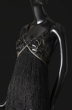 Costume réalisé pour Zizi Jeammaire en 1968.  Photographie de Sophie Carre.  Document Musée Yves Saint Laurent.
