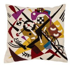Kandinsky Rails Cushion Cover