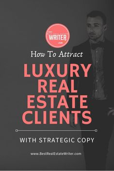 Want to become the premier luxury real estate agent in your market? You need to know how to write copy that will attract that high-end clientele. This will allow any real estate agent to transition into luxury faster and cheaper than ever before!